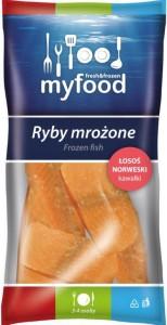 LN11009 MyFood łosoś kawałki 500 g